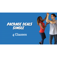 4 Class - Package Deal 1 Person