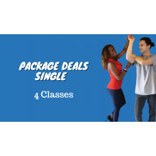 4 Class - Package Deal 1 Person at Home