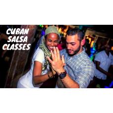 Wednesday Night 8PM Intermediate Salsa Class  4-Week